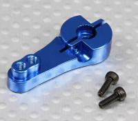 Heavy Duty 25T alumínio Arm Servo - Futaba (azul)