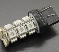 LED milho luz 12V 3.6W (18 LED) - vermelho