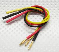2,0 milímetros Masculino / Feminino Bala Brushless Motor Extensão 200 milímetros de chumbo