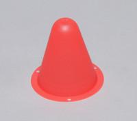 Cones de Corrida de plástico para / Faixa Car R C ou deriva Course - Red (10pcs / saco)