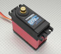 Turnigy ™ TGY-1270HV Ball Bearing DS / MG Servo w / dissipador de calor 40 kg / 0.18sec / 170g