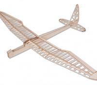 Sunbird Glider elétrica Laser Cut Balsa Kit 1600 milímetros (Kit)