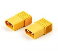 XT60 macho para T-Connector Plug Adapter (2pcs)