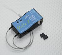 FrSky Delta 8 2.4Ghz 8CH Multi-Marca Receiver D8 / V8 Futaba S-FHSS / FHSS Hitec AFHSS Compatível