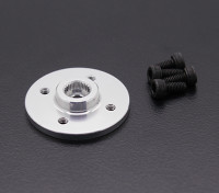Super Heavy Duty Metal CNC Servo Disk - JR / Sanwa (Silver)
