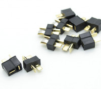 Mini Black T Connector Pack (5 pares)