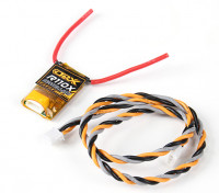 OrangeRx R110X DSMX / DSM2 receptor de satélite compatível.