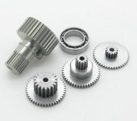 Engrenagem substituição Set Para servo da cauda RJX FS-0391HV Metal Gear Mid-Size