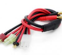 Tamiya e Connector T-multi carga Plug Adapter