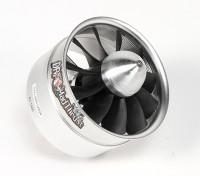 Dr. Mad Thrust 90 milímetros 11-Blade Liga EDF 1400kv Motor - 2900 Watt (8S)