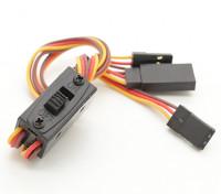 Futaba / JR interruptor arnês com carregamento de chumbo