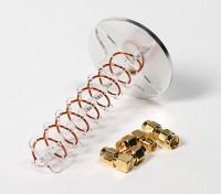 Modo axial helicoidal RHCP Antena 5.8GHz Circular sem fio (SMA)