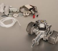 Motor 5.5HP 53cc gêmeo cilindro de gás