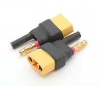 HXT 4 milímetros de bala para XT90 adaptador de bateria (2pcs)