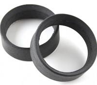 Equipe Sorex 24 milímetros moldado pneu Inserções Type-B Firm (2pcs)