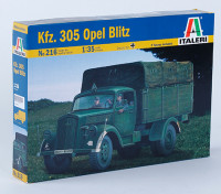 Italeri 1/35 Kfz. Kit 305 Opel Blitz Scale Pastic Modelo
