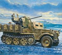 Italeri 1/35 Escala Demag D7 Com Flak 38 Sd. Kfz. Kit 10/5 Plastic Modelo