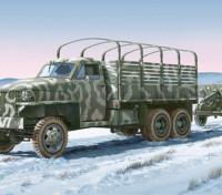 Italeri 1/35 Escala Lend Lease USTruck com Kit ZIS-3 Gun Plástico Modelo