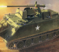 Italeri 1/35 Escala M-1 13 ACAV com 106 milímetros Kit Gun Plástico Modelo