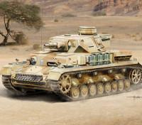 Italeri escala 1/35 Pz. Kpfw. IV Ausf. F1 / F2 início Kit G Modelo Plástico