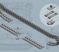 Italeri 1/35 Escala US M108 / M109 Series T-136 faixas de plástico acessórios Modelo