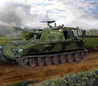 Kit Italeri 1/35 Escala M108 tanque de plástico Modelo