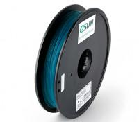 Filament Printer ESUN 3D verde 1,75 milímetros PLA 0.5KG Spool