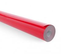 Cobertura filme sólido vermelho brilhante (5mtr) 102