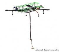 HobbyKing ™ retrátil Antenna System FPV com cabo de extensão