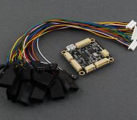 Micro HKPilot mega Micro Sized controlador de vôo e piloto automático com terminais 2.7.2 (APM)