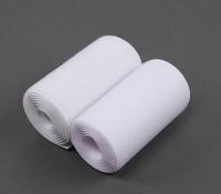 Poliéster gancho e Loop Velcro (100 mm x 1m)