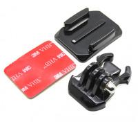 Helmet Mount com liberação rápida para Turnigy Ação Cam / GoPro Camera