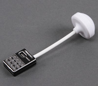 Mi600s Mini 5.8GHz 600mW 32CH vídeo sem fio Transmissor (Black)
