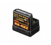 Receptor Sanwa / Airtronics RX-482 2.4GHz 4CH FHSS4 Super Response w / Sanwa Synchronized Link (SSL)