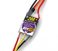 Corrida Afro Spec Mini 20Amp Multi-Rotor controlador de velocidade com BEC