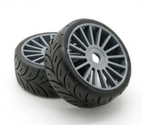 "Xceed ""Game Rally"" set 1/8 Tire - Medium (1pair)"