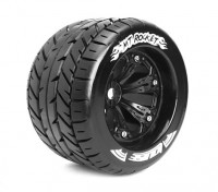 "LOUISE MT-ROCKET 1/8 Scale Traxxas Estilo Bead 3,8 ""Monster Truck SPORT Composto / Preto Rim"