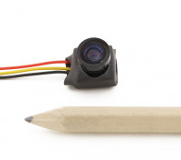 Mini CMOS FPV Camera linha do sensor 1/4 HD 600