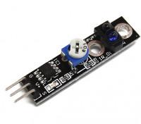 Keyes Veículo Inteligente Tracing Preto / Linha Branca Caça Sensor Para Arduino