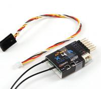 FrSky X4RA 3/16 canais 2.4Ghz ACCST Receiver w / S.BUS, inteligente Porto & telemetria (2015 versão EU)