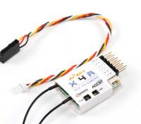 FrSky X4R 4 canais 2.4Ghz ACCST Receiver (w / Telemetry) (2015 versão EU)
