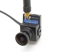 AOMWAY 700TVL CMOS HD Camera (Pal Version), mais Transmissor 200mw 5.8G