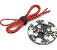 RGB LED Círculo X6 / Sistema de iluminação 12V