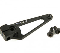 CNC alumínio Arm Servo - Futaba (Black)