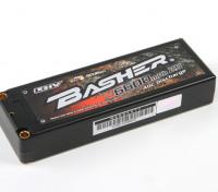 Basher 6600mAh 2S2P 40C Hardcase LiHV pacote
