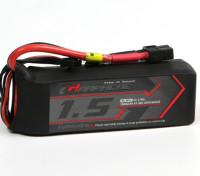 Turnigy Grafeno 1500mAh 4S 45C LiPo pacote w / XT60