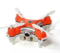 CX-10C Nano Quadrotor com built-in 0.3MP câmera RTF 2.4GHz (vermelho) (Modo 2 Tx)