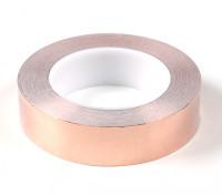 Auto-adesiva de cobre Tape 0,09 x 30 milímetros (25 metros)