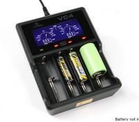 XTAR VC4 carregador para Ni-MH / baterias de iões de lítio (4 portas)
