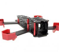 NightHawk 200 Carbon Fiber Drone Kit Frame (quadro inferior 4 milímetros)
